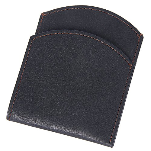 Best Mens Leather Front Pocket Wallet Slim Two Pockets Black USA - Coles Gift Card