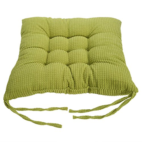 Haotfire Soft Home Office Square Cotton Polka Seat Cushion Buttocks Chair Cushion Pads
