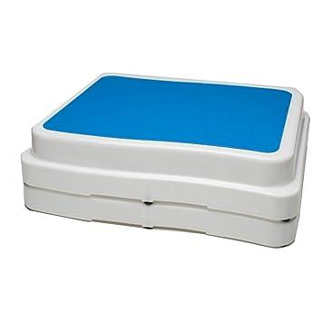 PU Health Pure Acoustics Safe Step Bathroom Aid Nonslip Bathtub, Blue