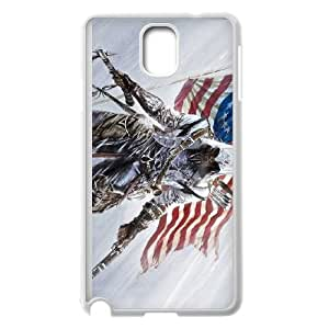 Samsung Galaxy Note 3 Cell Phone Case White Assassin Creed WXQ Rugged Phone Case
