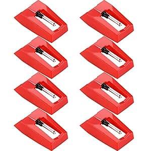 Amazon.com: Bemo - 8 agujas de repuesto para reproductor de ...