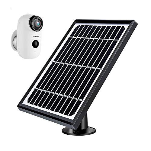🥇 Zumimall – Fuente de alimentación para Panel Solar para cámara de Seguridad inalámbrica Zumimall A3/A3P