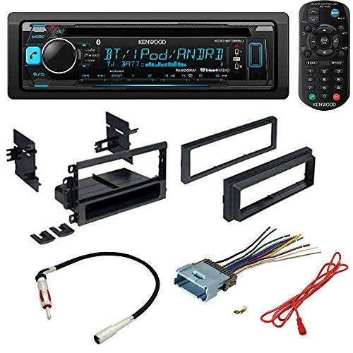 CAR STEREO RADIO CD PLAYER RECEIVER INSTALL MOUNTING KIT RADIO ANTENNA BUICK CADILLAC CHEVROLET GMC HUMMER ISUZU OLDSMOBILE PONTIAC 2000 2001 2002 2003 2004 2005 2006 2007 2008 2009 2010 2011 2012 by American International , Metra, Scosche (Image #7)