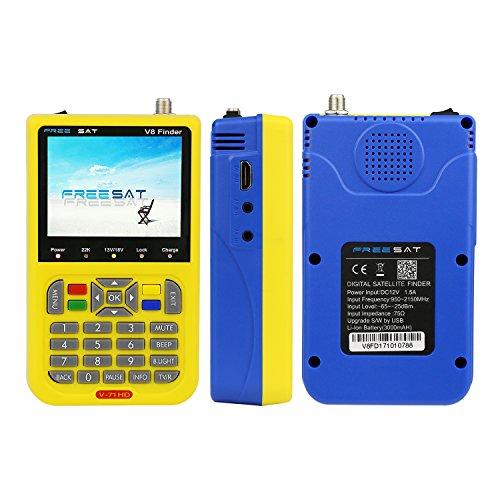 Newest Digital Sat Finder Satellite Antenna Signal Meter for