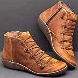 Arch Support Boots Women's Leather Comfortable