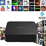 Zenoplige MXQ Amlogic S805 Quad Core Android TV Box KODI Pre-installed Fully Loaded Add-ons Wifi Lan Miracast Airplay HDMI 1G RAM 8G ROM Online Update