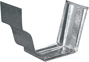 Amerimax Home Products 5 Galvanized Slip-Joint Connector