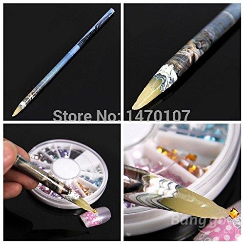 QIMEIYA 4 Pieces/bag Nail Tool Rhinestone Picker Wax Pencil Nail Art Dotting Pen Guangzhou Sindy Cosmetics Co. Ltd
