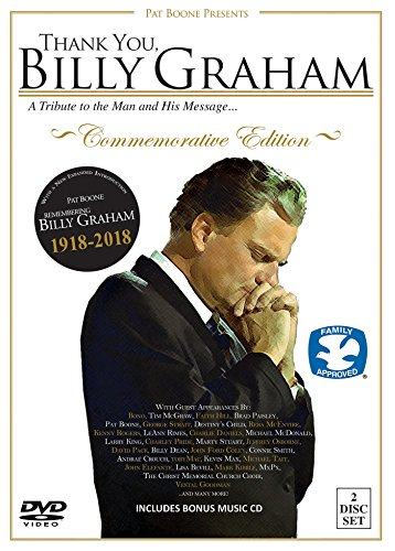 Price comparison product image Thank You,  Billy Graham (Commemorative Edtion) [DVD + CD]