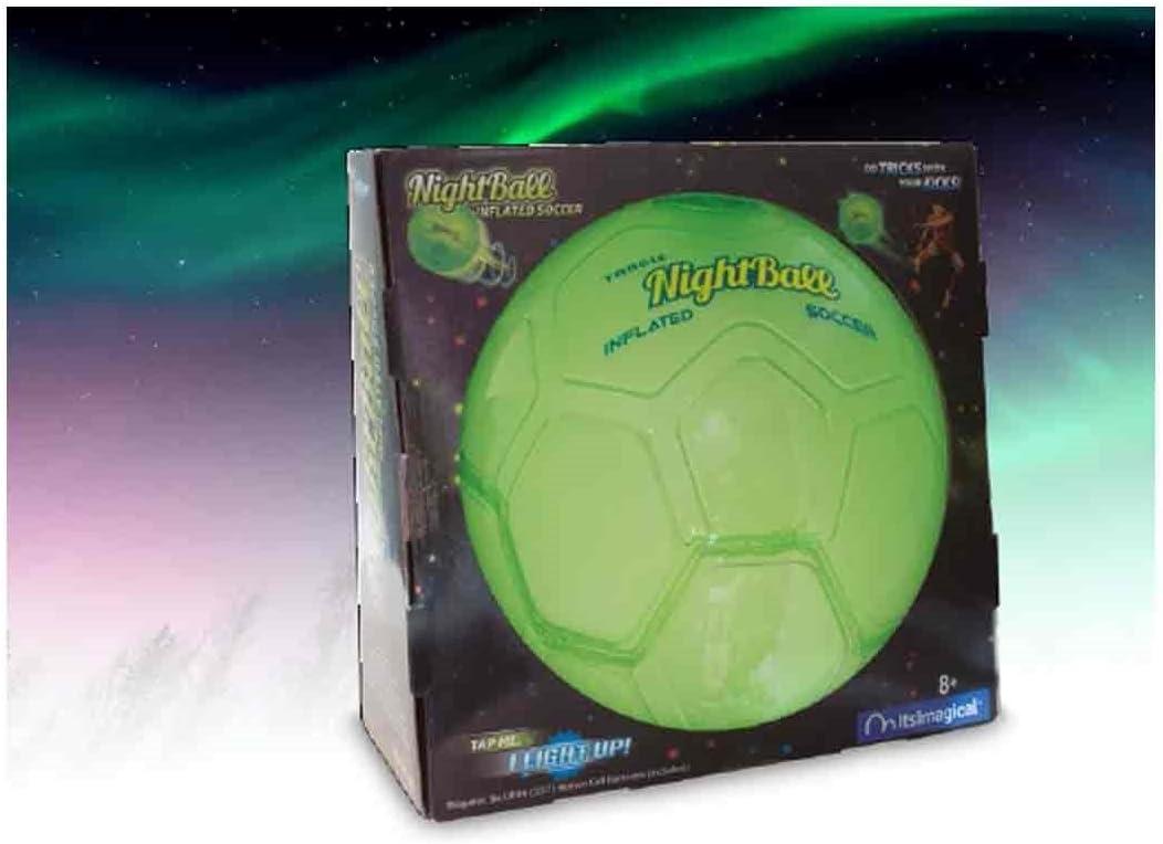 Toys Partner- Pelota Futbol NIGHTBALL SE Ilumina, Multicolor (Toy ...