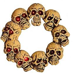 Halloween Skulls Wreath 46x46x5CM