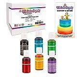 best seller today 6 Color Cake Food Coloring Liqua-Gel...