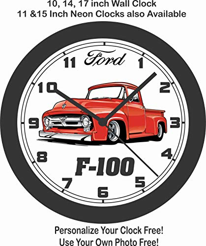 amazon jim s classic clocks 1953 ford f 100 pickup wall clock 1946 Hudson Pickup jim s classic clocks 1953 ford f 100 pickup wall clock free usa ship
