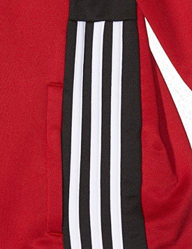 Giacca Power Regista18 Jacket black Red Unisex Adidas Pes Bambini BtSRRa