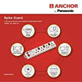 Anchor Electricals Pvt Ltd 4 Way Power Strip with Individual Switch