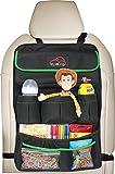 EPAuto Premium Car Backseat Organizer for Baby Travel Accessories, Kids Toy Storage, Back Seat Protector/Kick Mat