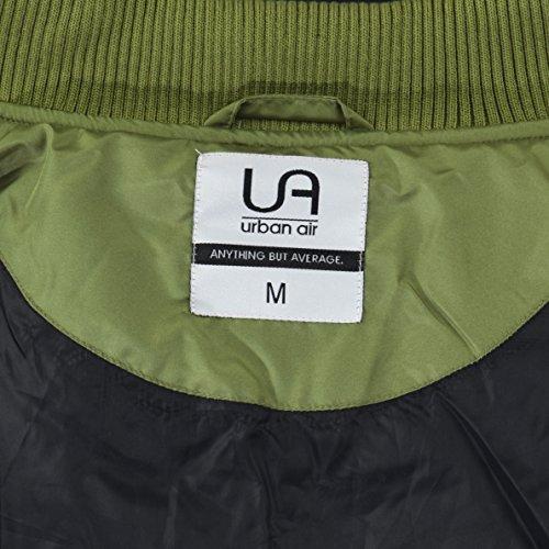 Universidad Chaqueta urban Hombre para Verde Large Oliva air z77r45E