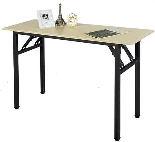 Mesas CJC Mesa Plegable Mesa de Ordenador Escritorio de Oficina ...