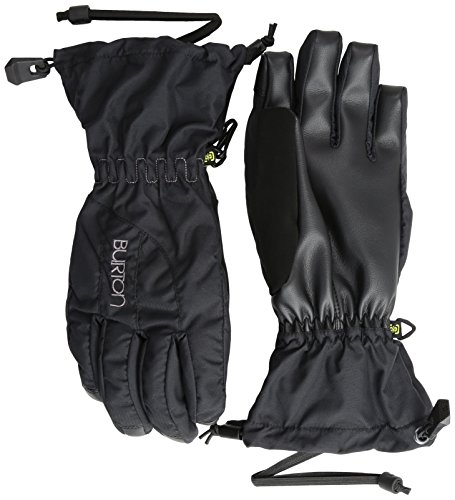 Over Snowboard Glove (BURTON Women's Profile Gloves, True Black,)
