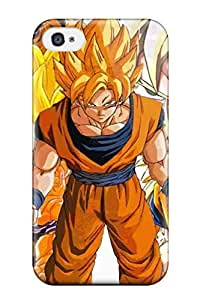 Defender Case With Nice Appearance (dbz Goku ) For Iphone 4/4s