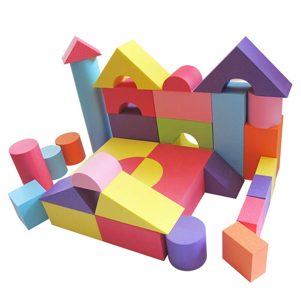 世界的に 積み木 大きいブロック やわらか DIY やわらか ブロック つみき 収納袋付き ソフトブロック カラフル EVA素材 軽い 柔らかい ブロックおもちゃ DIY 収納袋付き 知育玩具 幼稚園 保育園 3.5cm104個入/6cm52個入/10cm58個入 ご選択くだい (ビッグサイズ、10cm) ビッグサイズ、10cm B07Q2F5Q5P, arekore by HOTCHPOTCH:3ac3144b --- vezam.lt