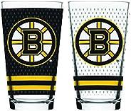 NHL Boston Bruins Mixing Glass, 2-Pack