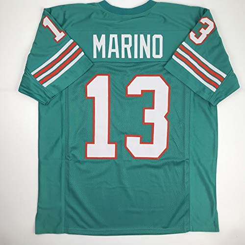 Unsigned Dan Marino Miami Green Custom Stitched Football Jersey Size XL New No Brands/Logos