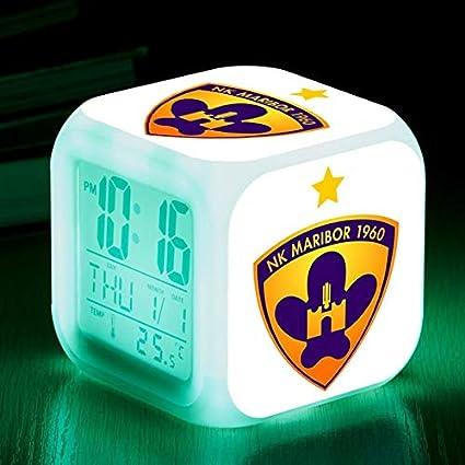 Amazon.com: Football Team from Scotland LED Alarm Clocks reloj despertador Rangers Football Club Digital Alarm Clock Watch Color Flash Lamps: Home Audio & ...
