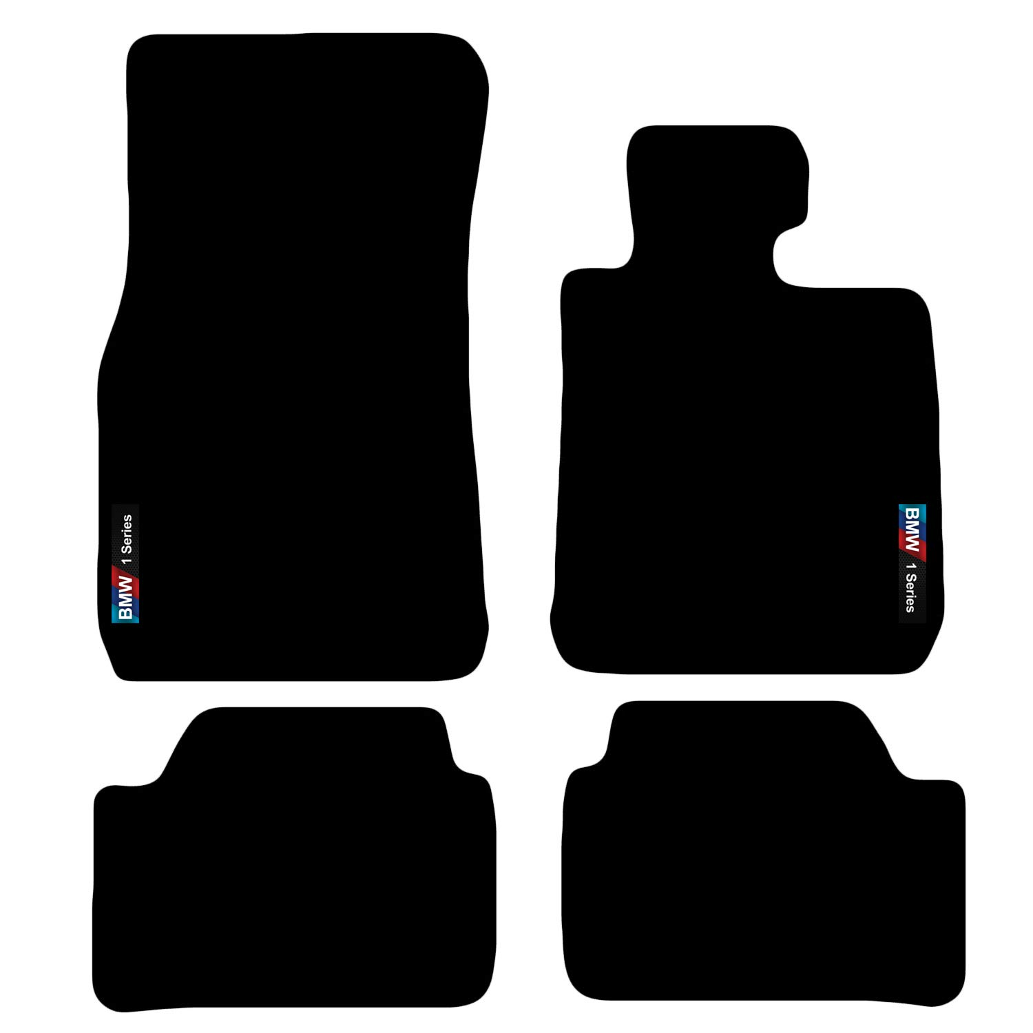 1 Series F20 F21 2011 onwards Tailored Carpet Car Floor Mats with logo Carsio