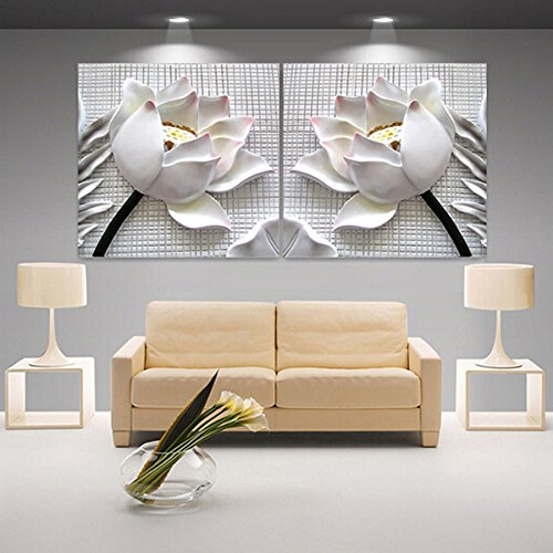 modern-3d-white-lotus-definition-pictures-canvas-home-decoration-living-room-wall-modular-painting-p