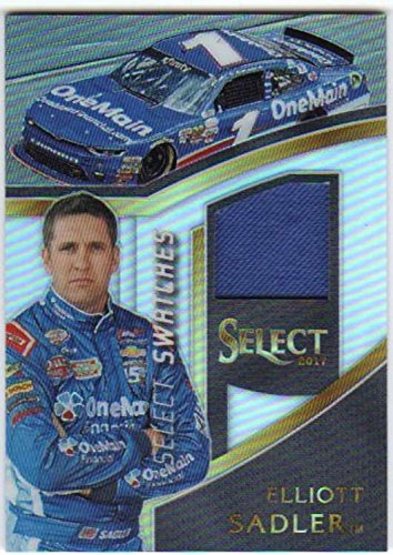 2017 Panini Select Racing Swatches Firesuit Relic  48 Elliott Sadler