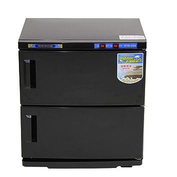 Doble Capa Esterilizador De Toallas 21-40L Toalla Húmeda Gabinete De Calefacción De Alta Temperatura