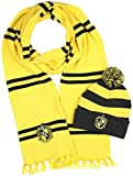 Harry Potter Hogwarts Houses Knit Hufflepuff Scarf