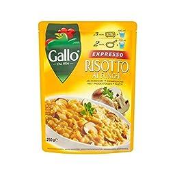 Riso Gallo Expresso Risotto Mushroom 250g - Pack of 4