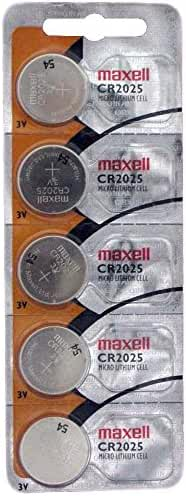 Maxell Cr2025 - 3V 5 Pack
