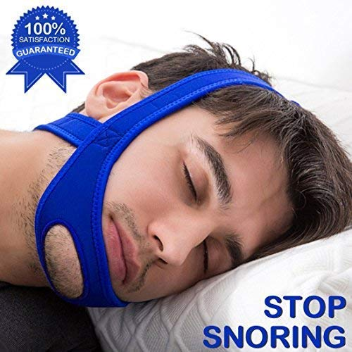Yeesun Snoring Chin Strap Z1– Most Effective Snoring Solution and Anti Snoring Devices - Blue