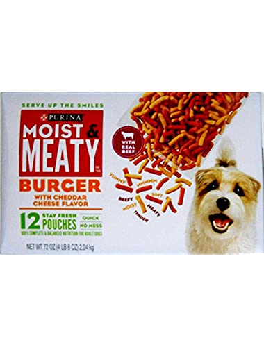 Purina Moist and Meaty Burger Cheese, 1 lb