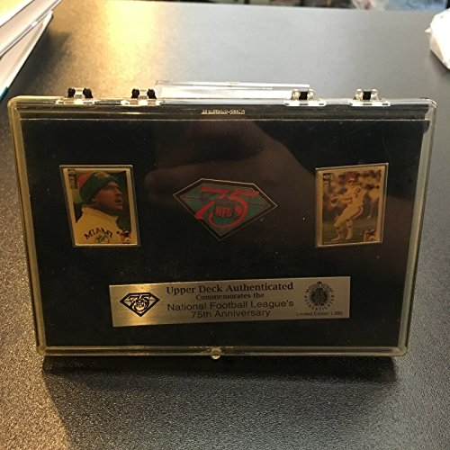 NFL 75th anniversary Upper deck - Pins Collectible Nfl