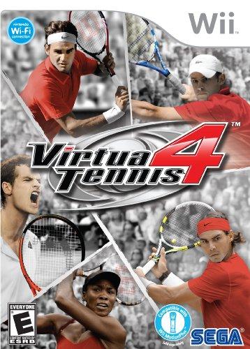 Virtua Tennis 4 - Nintendo Wii (Wii Virtua Tennis)