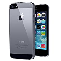 iPhone SE Case,iPhone 5S Case, Korecase Apple iPhone 5 5S SE Transparent Case Bumper Cover Slim and Anti-Scratch Clear Back for iPhone 5/5S/SE - Clear