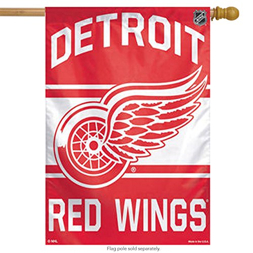 "NHL Detroit Red Wings WCR67179014 Vertical Flag, 27"" x 37"""