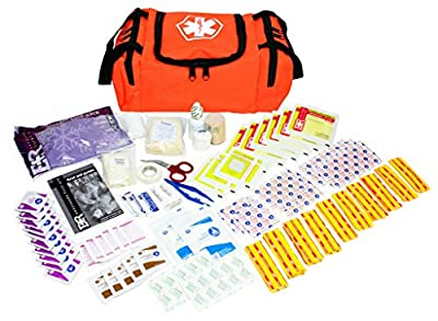 Ever Ready First Aid Kit in First Responder Ll Bag for 25 Person by Everready First Aid