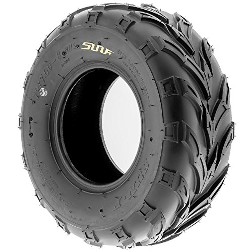 SunF A004 ATV Golf Carts Off-Road Tire 16x7-8, 6 PR, Track & Trail, Tubeless by SunF (Image #5)