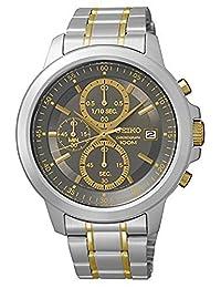 Seiko Men's SKS449P1 Grey Chronograph Dial Watch