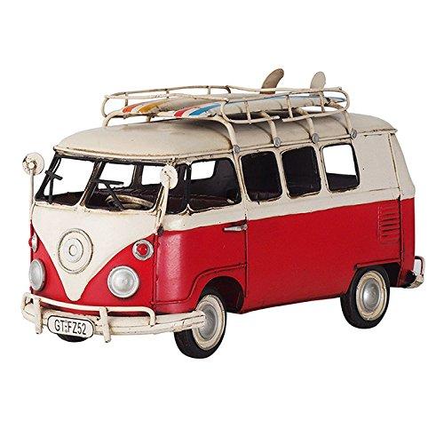 ブリキのおもちゃ B-クルマ10 アンティーク レトロ 車 クルマ ビンテージ クラシックカー フォルクスワーゲン VOLKSWAGEN バス ワーバス WAGEN BUS B079VLTKH7 クルマ10 クルマ10