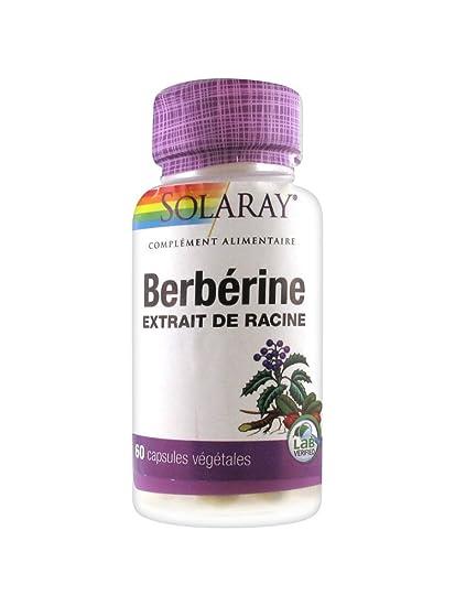 Solaray Berberina – 60 Cápsulas