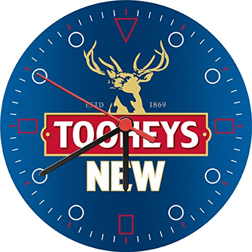 tooheys-new-beer-wall-clock