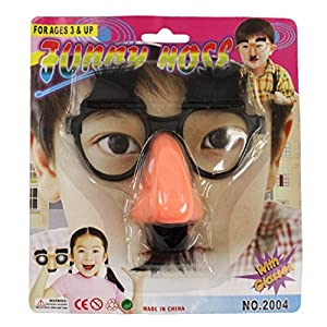 Uni Funny Glasses - Costume Accessory