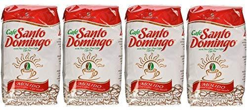 Cafe Molido Santo Domingo Coffee 1 Lb. Bags 4-pack 4 Lbs. Total by Santo Domingo