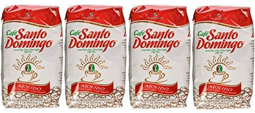 Cafe Molido Santo Domingo Coffee 1 Lb. Bags 4-pack 4 Lbs. Total]()
